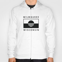 Milwaukee Wisconsin - Black - People's Flag of Milwaukee Hoody