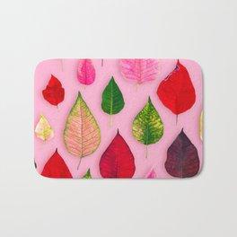 Plants on Pink Bath Mat