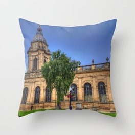 Birmingham Cathedral Throw Pillow