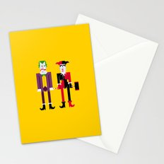 Joker and Harley Quinn Stationery Cards
