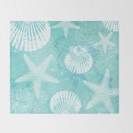 coastal Throw Blanket