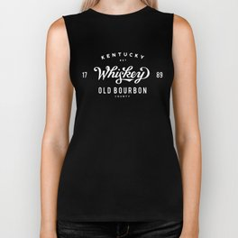 Old Bourbon Whiskey Biker Tank