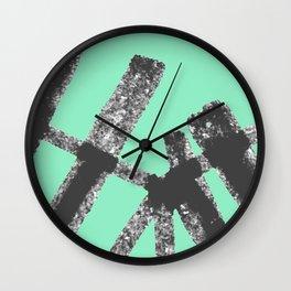 Bent Rails Wall Clock