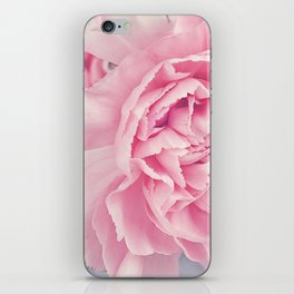 Pale Pink Carnations iPhone Skin