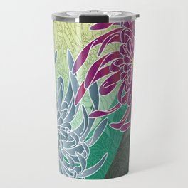 chrysanthemums  Travel Mug