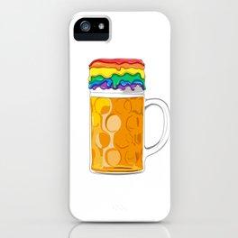 LGBT Gay Lesbian Beer Pride German Oktoberfest iPhone Case