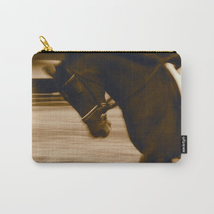 Warm Up Dressage, Malibu, California Carry-All Pouch