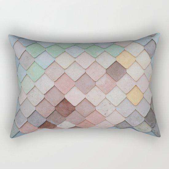 Urban Mosaic Rectangular Pillow