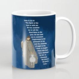 Jesus of Nazareth the Good Shepherd Coffee Mug