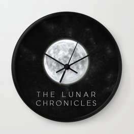 The Lunar Chronicles Wall Clock