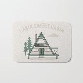 Cabin Sweet Cabin Bath Mat