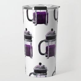 French Press - Purple Travel Mug