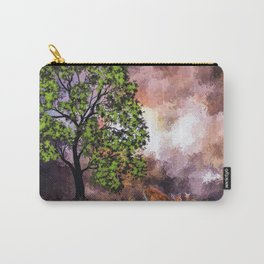 The Deer at the Tree (Color) Carry-All Pouch
