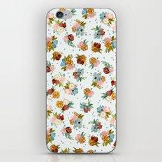 PASTEL FLORALS iPhone Skin