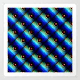 Pattern small balls Art Print