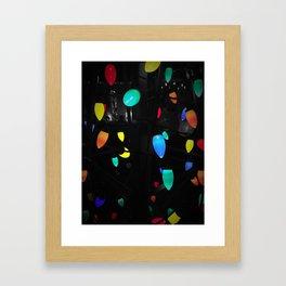 Christmas Light Framed Art Print