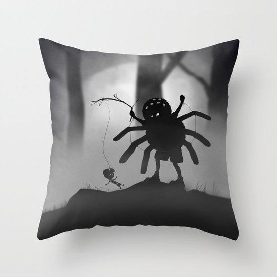 Limbo Kid Throw Pillow