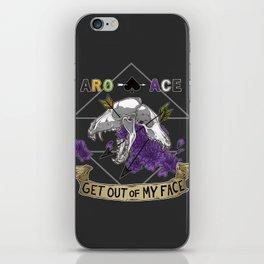 Aro+Ace iPhone Skin