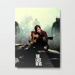 The Last of Us Grown Ellie Metal Print