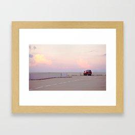 Overlook Framed Art Print