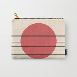 Private Moon - Red Carry-All Pouch
