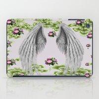 angel wings iPad Cases featuring angel wings by karens designs
