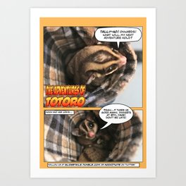 Glidertales Issue 2 - 1 of 1 Art Print