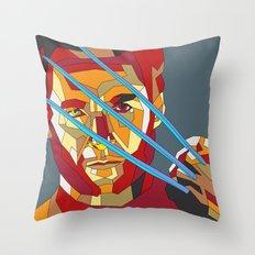 James Howlett Throw Pillow
