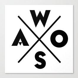 WOSA - World of Street Art Canvas Print