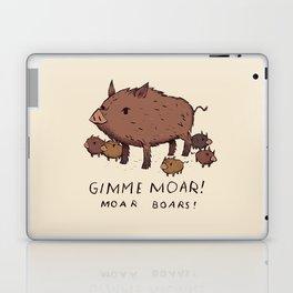 moar boars Laptop & iPad Skin