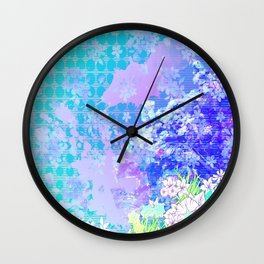 Beauty in Bloom Wall Clock