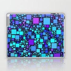 Post It Blue Laptop & iPad Skin
