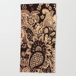 Spring Time Flowers Beach Towel