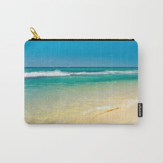 maui beaches into the blue Carry-All Pouch