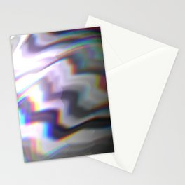 HoloGlitch Stationery Cards