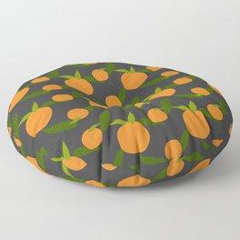 Mangoes in the dark Floor Pillow