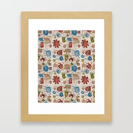 Critters Framed Art Print