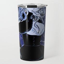 BLACK CAPRICORN  Travel Mug