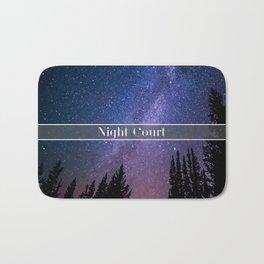 Night Court Bath Mat