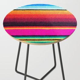 Magenta Sky Serape Side Table