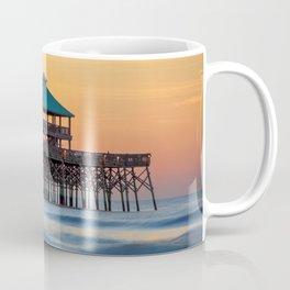 Folly Pier Sunrise Coffee Mug