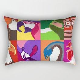 Birds Rectangular Pillow