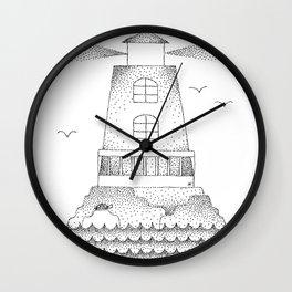 We See Light Wall Clock