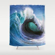 Wedge Barrel    Shower Curtain