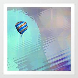 Cloudless Art Print