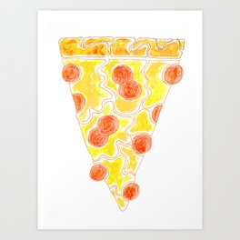 """Piece of Pizza"" Art Print"