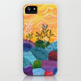 on and on fields iPhone Case