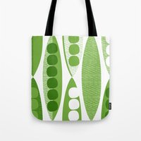 mod Tote Bags featuring Mod Pod by Alex Morgan
