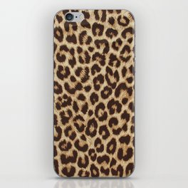 Leopard Print iPhone Skin