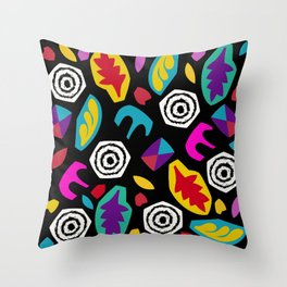 Stranger Eleven Things Throw Pillow